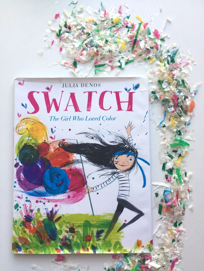 Storykins// Swatch- The Girl Who Loved Color | Babiekins Magazine