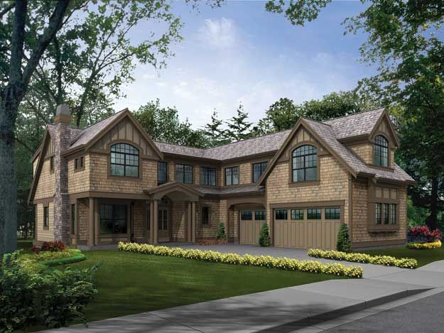 35 best tudor home plans images on pinterest dream home for Modern tudor house