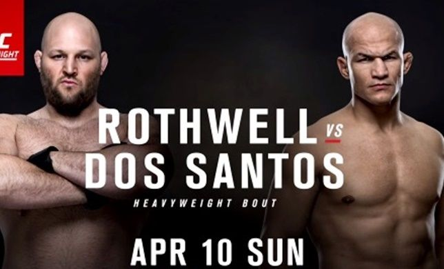 Watch UFC Fight NightRothwell vs. Dos Santos 4/10/2016 10th April 2016 (10/4/2016) Full Show Watch UFC Fight Night 4/10/16 - 10th April 2016 Live Stream and Full Show Online Free Watch Online (Live