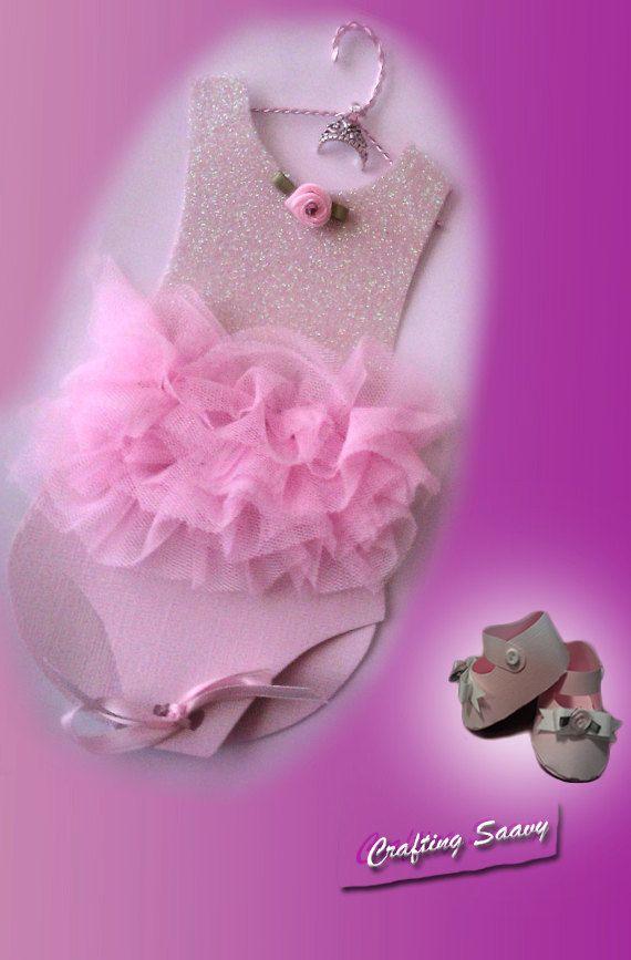Pink Ballerina Tutu Baby Shower Invitation Qty 10 Por Craftingsaavy, $57.50
