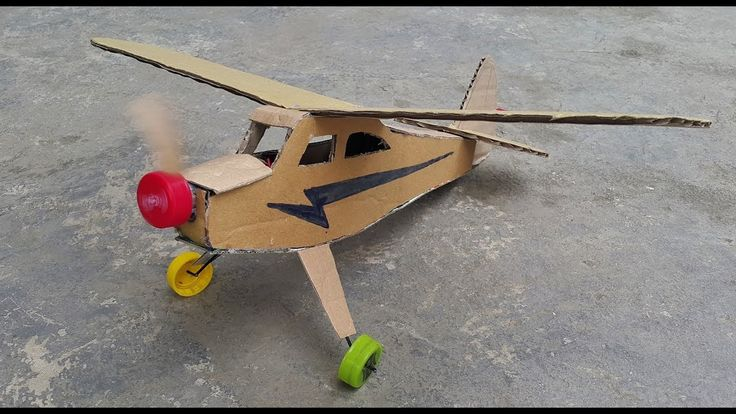 Wow! DIY J3 Cub Air Plane From Cardboard