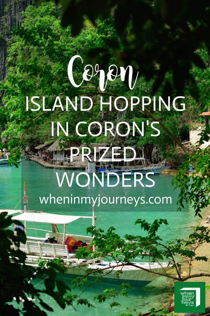 Coron Palawan Philippines: Island Hopping on Coron's Prized Wonders