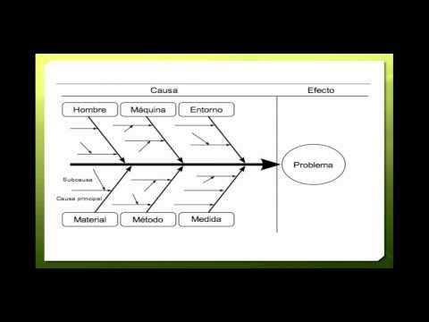 Diagrama Causa Efecto - YouTube