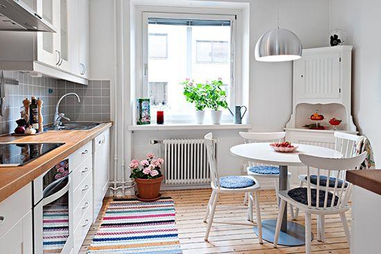 Desain dapur unik bergaya scandinavia ~ Teknologi Konstruksi Arsitektur