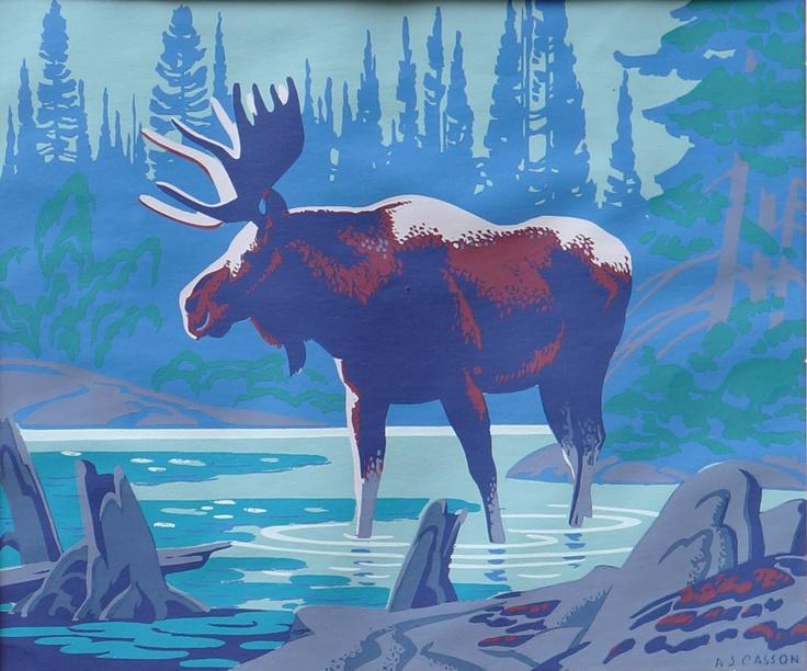 Alfred Joseph Casson - Moose