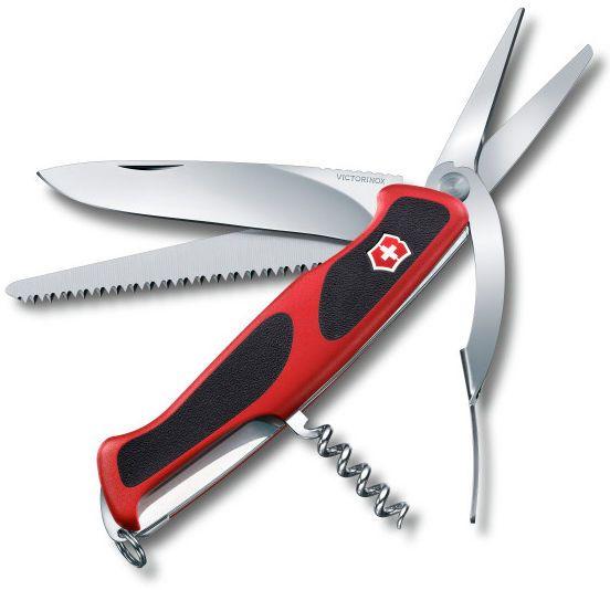 0.9713.C VICTORINOX SWISS ARMY KNIFE DELEMONT RANGERGRIP 71 GARDENER 0.9713.CUS2 #Victorinox
