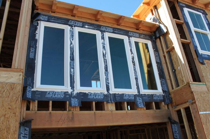 waterproofing membrane for use around windows doors under stucco and