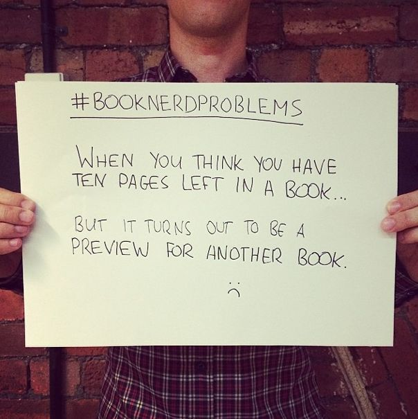 Book Nerd Problems....... #booknerdproblems pic.twitter.com/hfGLoRtYg0