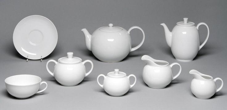Coffee and Tea Service, Arzberg 1382 Designed by Dr. Hermann Gretsch Made by Arzberg Porzellanfabrik Designed 1931