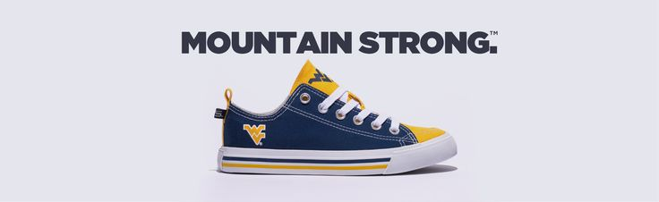 """The Sole of every Mountaineer Fan."" For West Virginia University fans everywhere, whether you are exploring the streets of Morgantown, grabbing dinner at Texas"