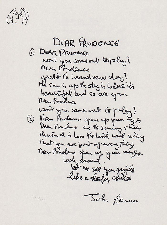 Lyric let it be the beatles lyrics : Best 25+ The beatles dear prudence ideas on Pinterest | Good ...