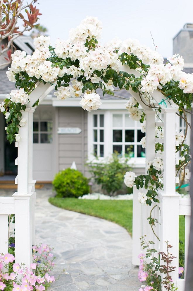 Garden Gate. Garden Gate. White Garden Gate. Picket fence and Garden Gate. #Garden #Gate #GardenGate Ryan Garvin photography. AGK Design Studio.