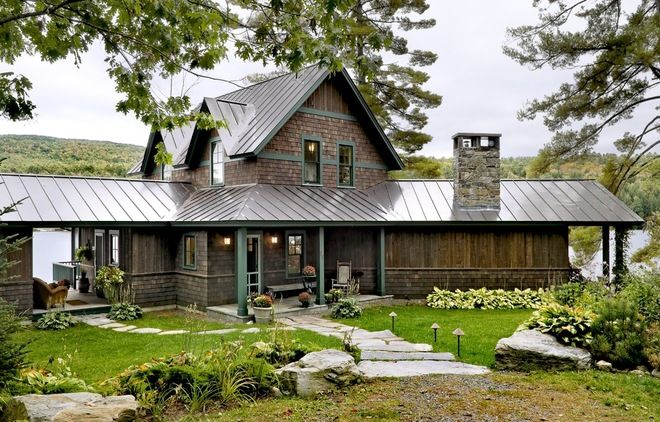 111 best metal roofing images on pinterest metal roof - Cottage anglais connecticut blansfield ...