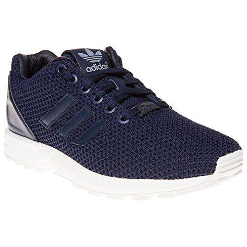 adidas zx flux schuhe farbe blau neon rot
