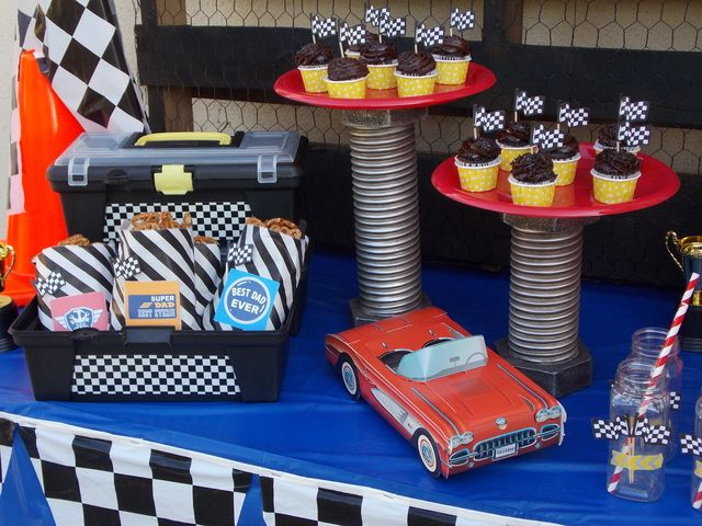 Race Car Party #racecar #party