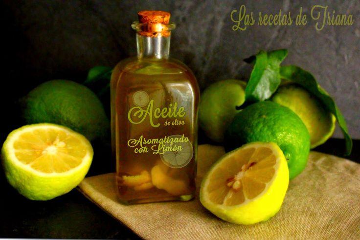 Aceite de oliva aromatizado con limòn I
