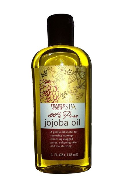 Best TJ's products: This oil removes every last trace of makeup while nourishing the skin. The key is to let it sit on top of the eyes for 15 seconds before you start to rub it in — your stubborn makeup will melt away.  Trader Joe's Jojoba Oil, $7.99, available at Trader Joe's locations.