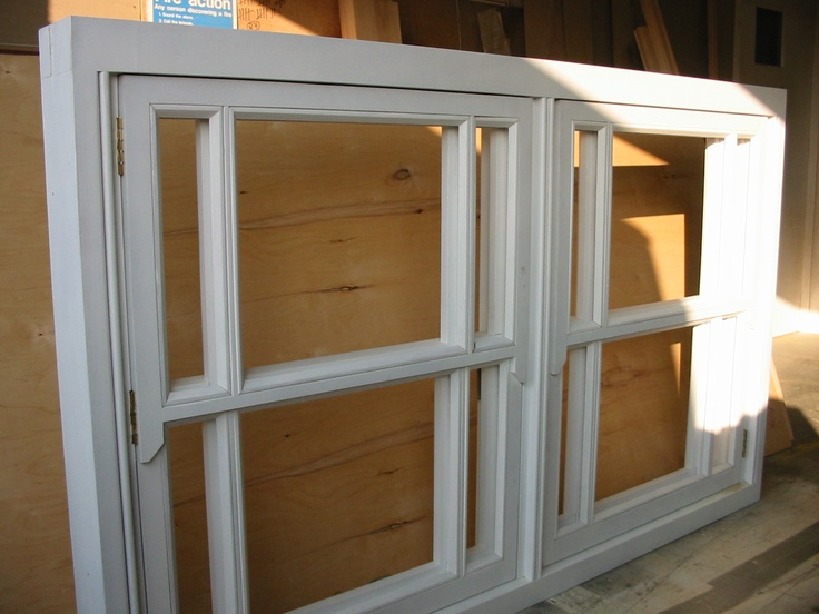 Casement window made to look like a sliding sash- in a particularly chunky style at customer request
