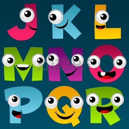 Cartoon Alphabet Set 2