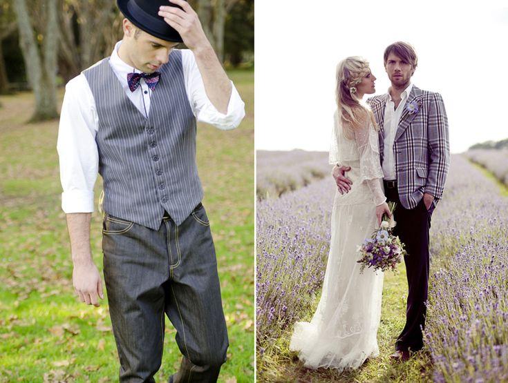 образ невесты в стиле бохо