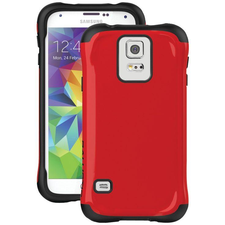 Ballistic Samsung Galaxy S 5 Urbanite Case (red And Black)