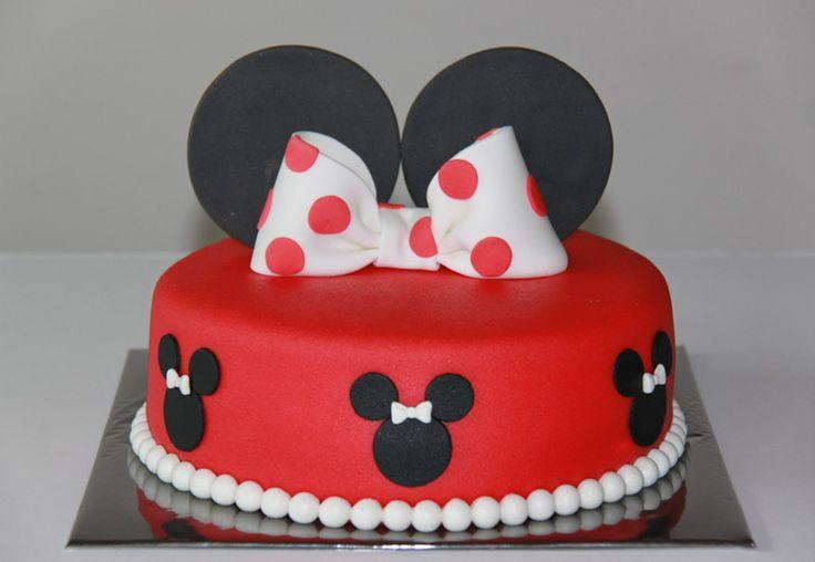 Verjaardagstaarten - Koning Kikker Mini mouse cake
