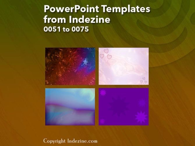 Blue Dots - PowerPoint Templates   Background templates and Template