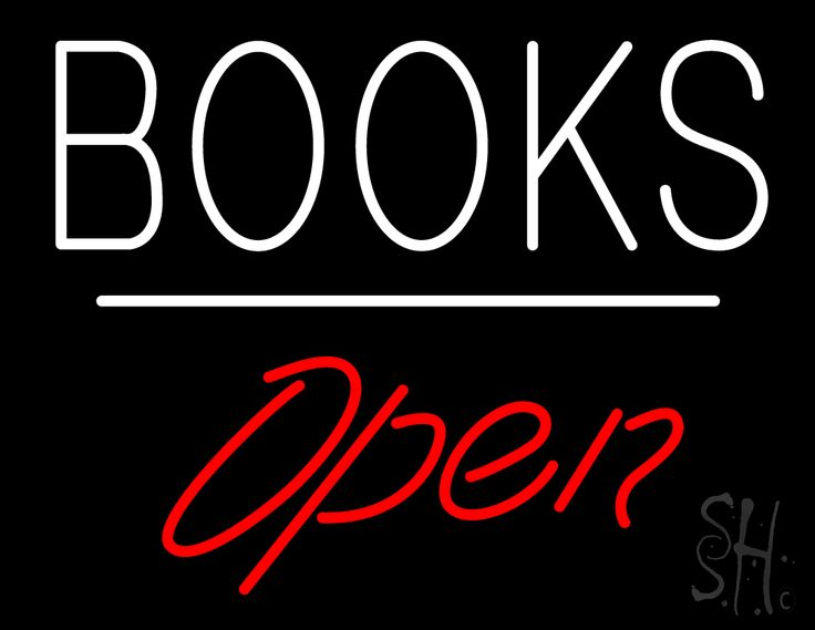Books Open White Line Neon Sign 24 Tall x 31 Wide x 3 Deep, is 100% Handcrafted with Real Glass Tube Neon Sign. !!! Made in USA !!!  Colors on the sign are White and Red. Books Open White Line Neon Sign is high impact, eye catching, real glass tube neon sign. This characteristic glow can attract customers like nothing else, virtually burning your identity into the minds of potential and future customers.