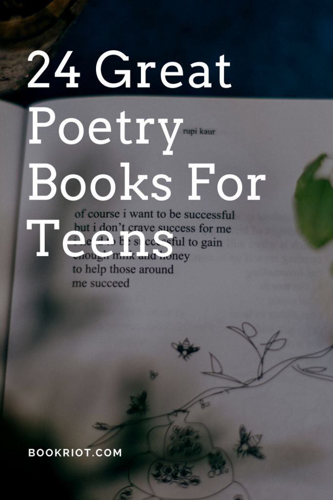 24 Poetry Books for Teens To Devour