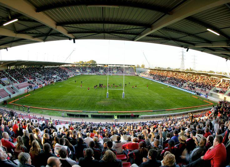 Vibrez lors d'un match du Stade Toulousain au stade Ernest-Wallon ! © D.Viet #visiteztoulouse #toulouse #rugby