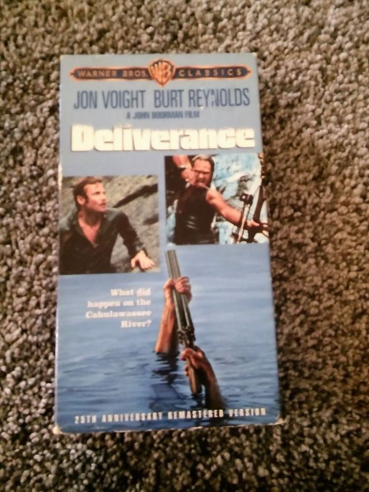 Deliverance VHS  Jon Voight, Burt Reynolds, Ned Beatty, Ronny Cox, Ed Ramey GUC