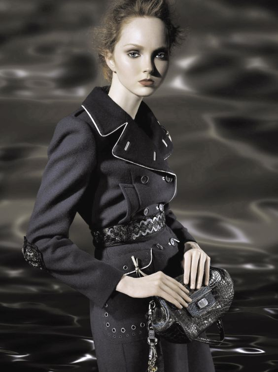 Lily Cole by Steven Meisel for Prada FW 2005