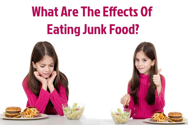Effects Of Junk Food On Children Written by-LAKSHMEEZ...If you thought that giving in to the junk food whims of your child was harmless, we are sorry to break the bubble! The growing awareness of the effects of junk food is slower than the pace of the effect it has on your child.
