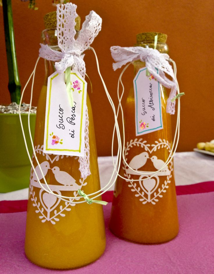 Home made fruit juices