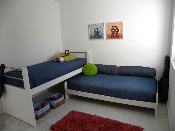 Dormitorio Niños . Arq Penas con Estudio Lopez+Penas
