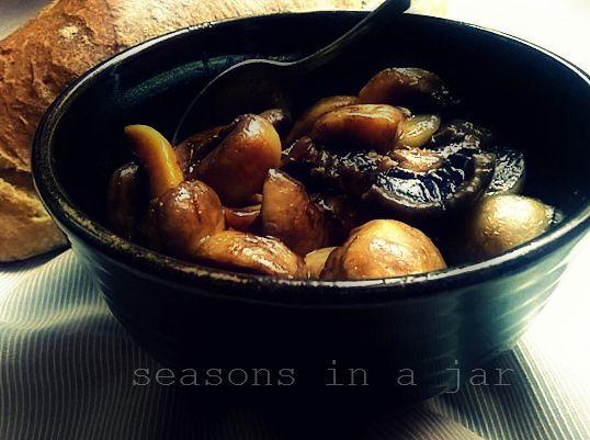 Seasons in a jar: Μανιτάρια με μπαλσάμικο