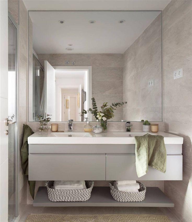 Cómo elegir espejo de baño (con ideas decorativas y ...