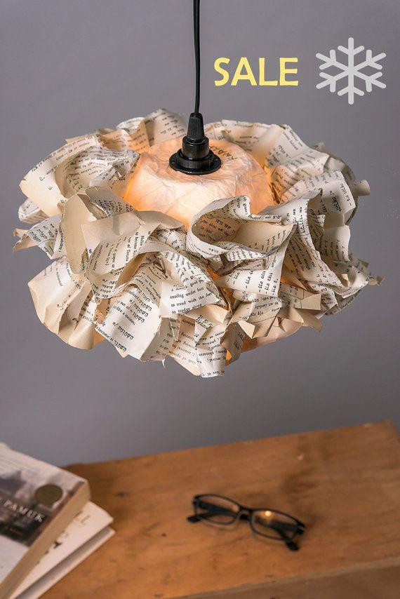 Libro la lámpara de papel vuelva a encender para por KwalaPaperArt
