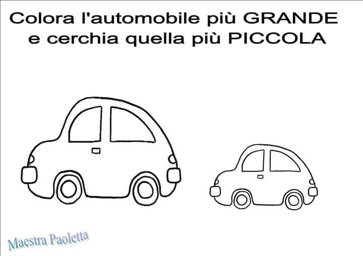 Auto-duży i mały