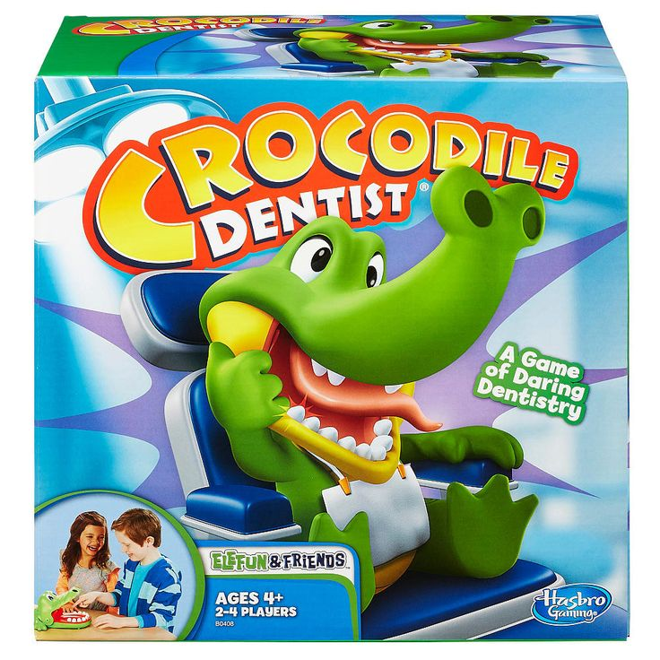 "Elefun & Friends Crocodile Dentist Game - Hasbro - Toys ""R"" Us"