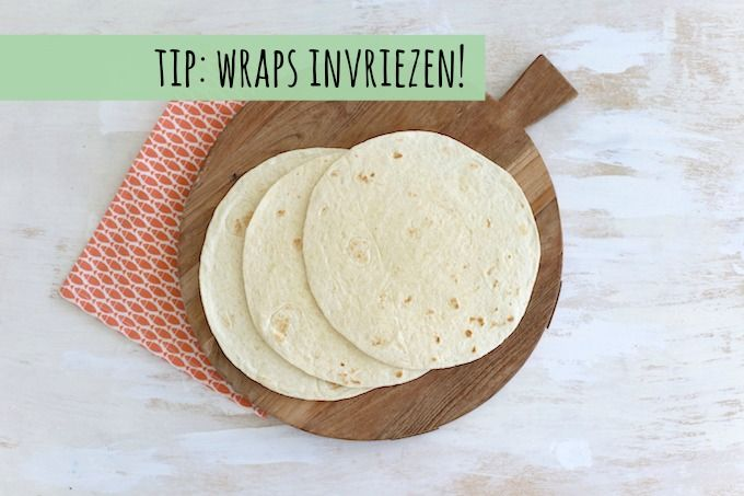 Tip: wraps invriezen | Lekker en simpel | Bloglovin'