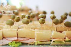 Petisco chá - Sanduíche em metro ou mini sanduiches