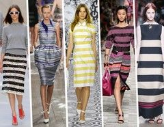 Spring/Summer Fashion Fashion Trends 2014 for Her -Striped Style