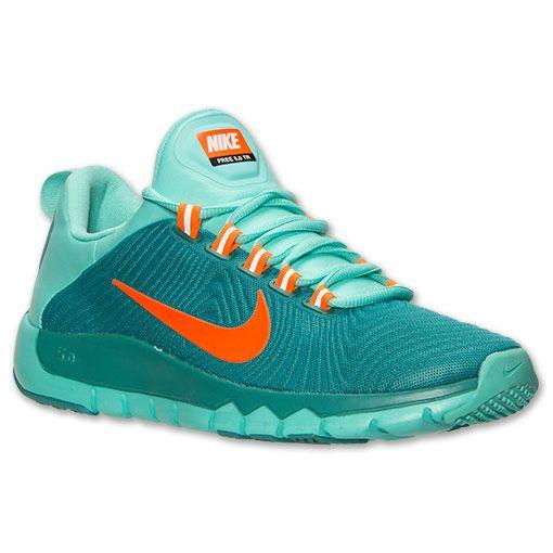 Men's Nike Free Trainer 5.0 Training Shoes | Finish Line | Catalina/Hyper  Crimson/