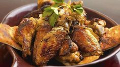 Recipes: Recipes for chicken wings at Anthony's Coal Fired Pizza and healthy cookies.