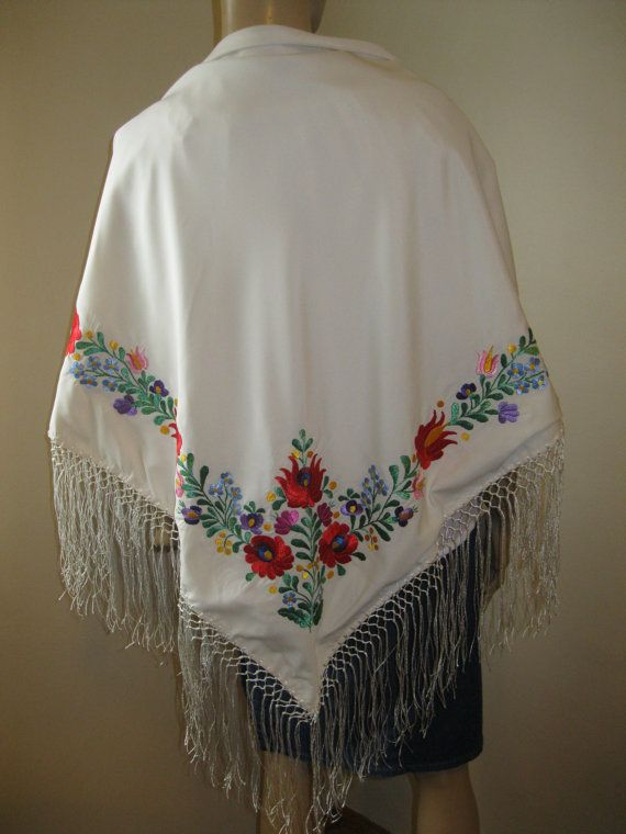 Hand embroidered Hungarian costume Matyo Kalocsa by RealRomania
