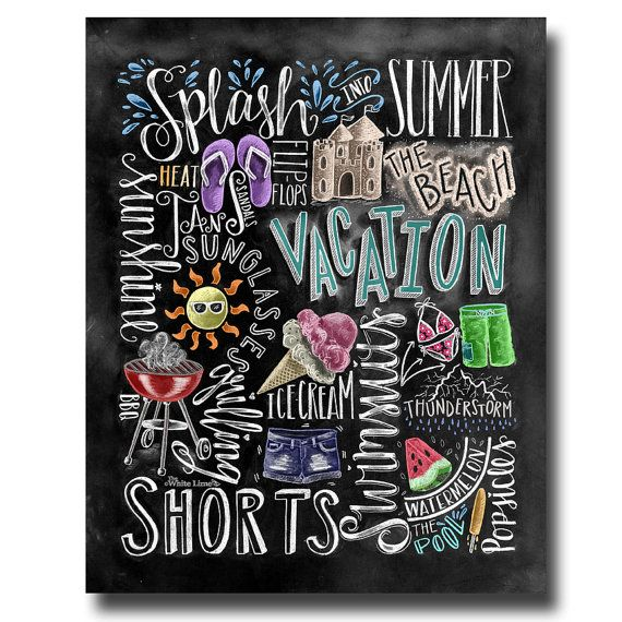 Blackboard Artwork Ideas: Best 25+ Summer Chalkboard Ideas On Pinterest