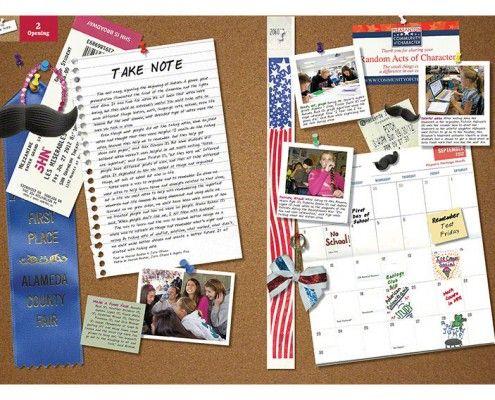 Harvest Park Middle School (Pleasanton, CA) | 2013 Yearbook Opening | Book Theme: Take Note | Printed by Herff Jones