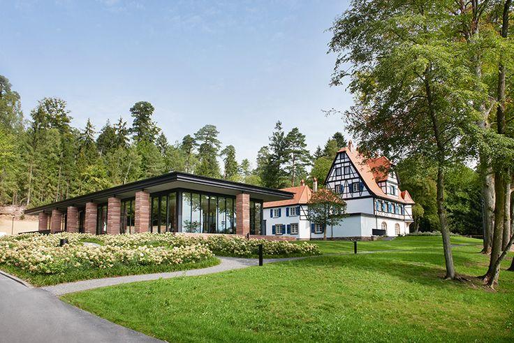Villa René Lalique à Wingen sur Moder - Restaurant 2*