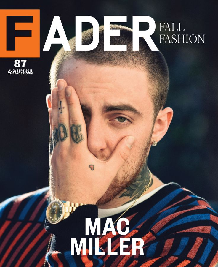Mac Miller: Find Yourself FADER cover